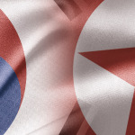 O contraste entre as Coreias